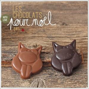 Chocolats de Noël - Petits Béguins