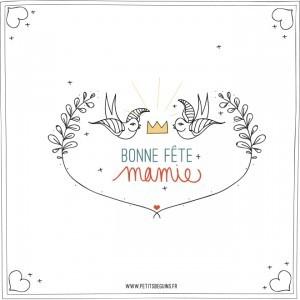 Fête des Mamies - Illustration - Petits Béguins
