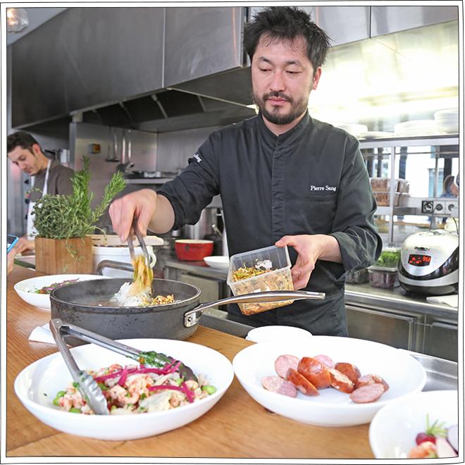 Pierre Sang - Restaurant Paris 11 - Petits Béguins
