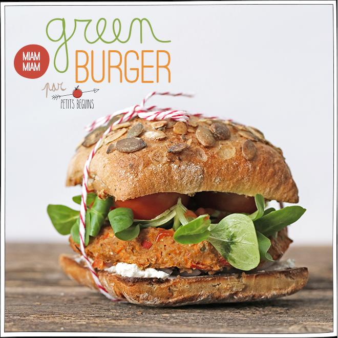 Greenburger - Recette Veggie - Petits Béguins