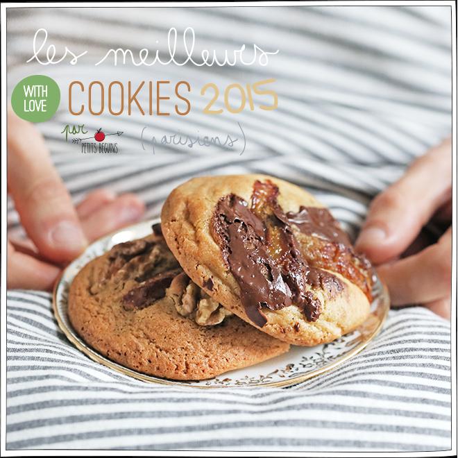Les meilleurs cookies de Paris 2015 - Coup de Coeur - Petits Béguins