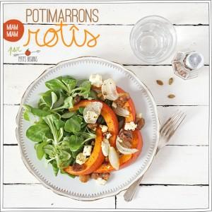 Potimarrons Rôtis - Recette Facile - Petits Béguins