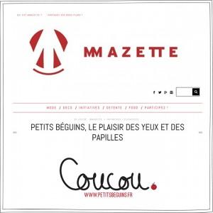 MMazette - Presse - Petits Béguins