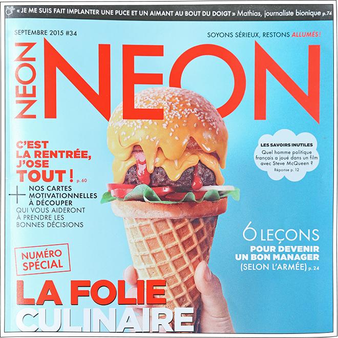 NEON - Article Presse - Petits Béguins