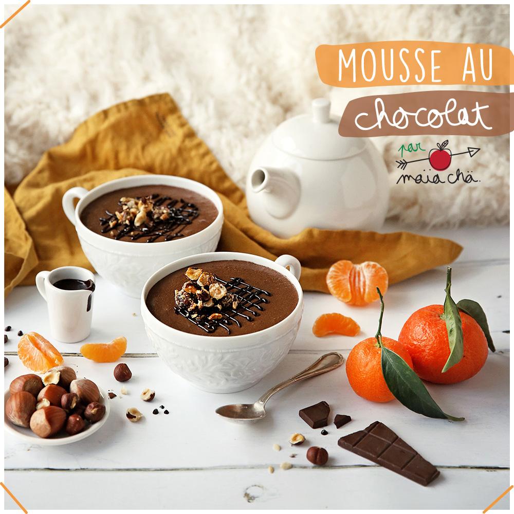 Mousse Au Chocolat Facile - Recette - Maïa Chä