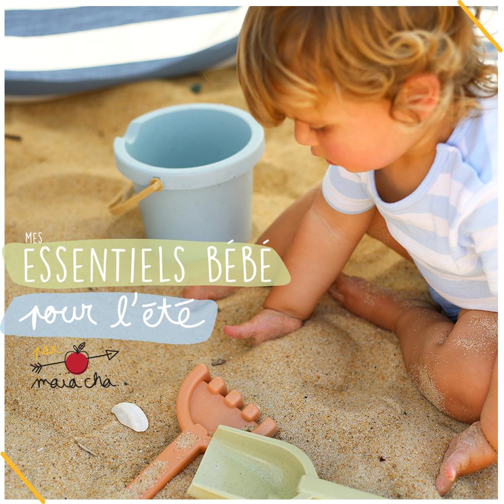 Essentiels Bébé pour l'été - Bio - Ethique - Coup de Coeur - Maïa Chä