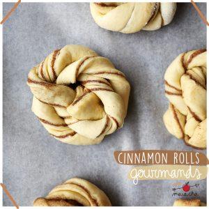 Cinnamon Rolls - Recette brioche cannelle - Maïa Chä