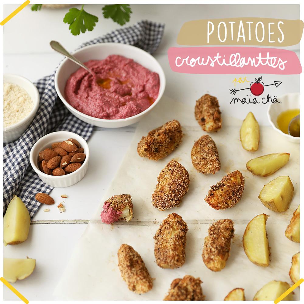 Potatoes Croustillantes - Recette Veggie - Recette enfants - Maïa Chä