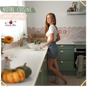 Avant / Apres Cuisine - Fait Maison - Maïa Chä